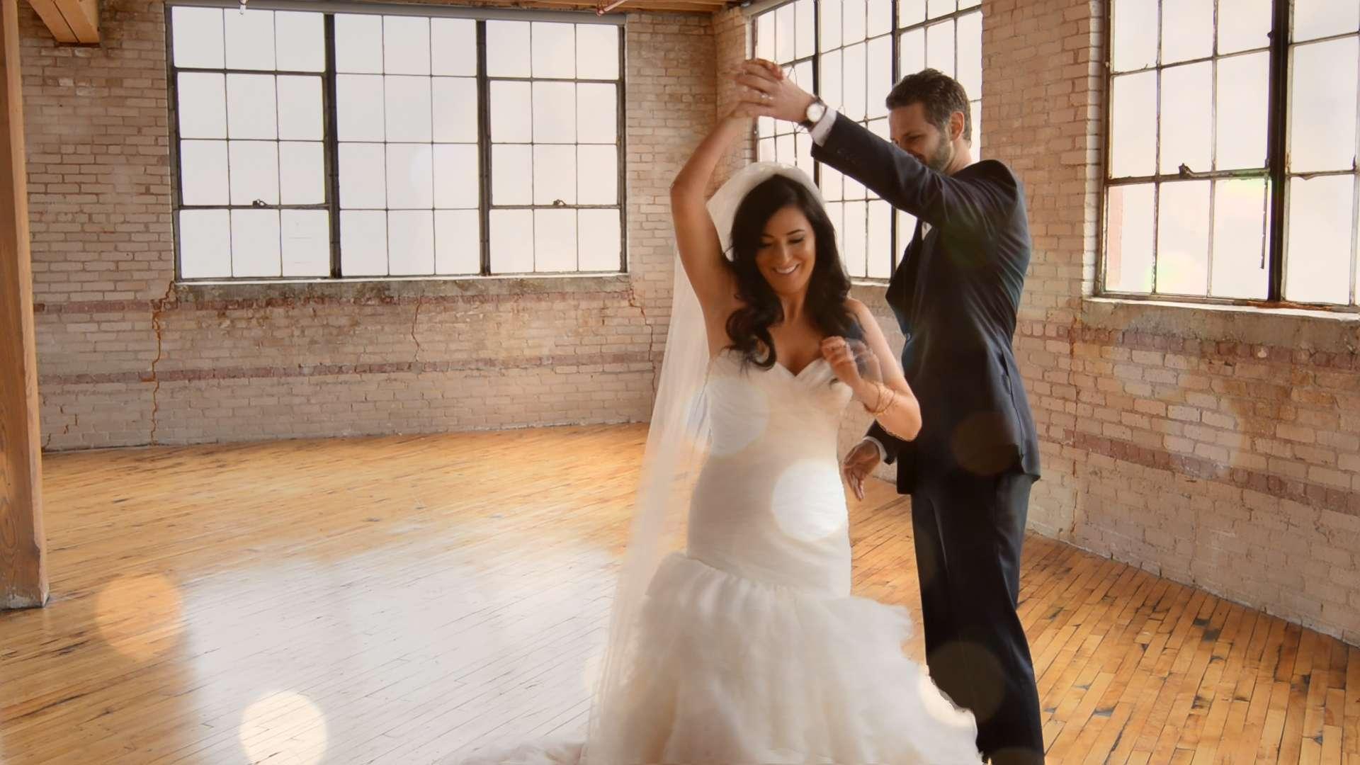 Kerri + Jake's Theatrical Wedding Trailer