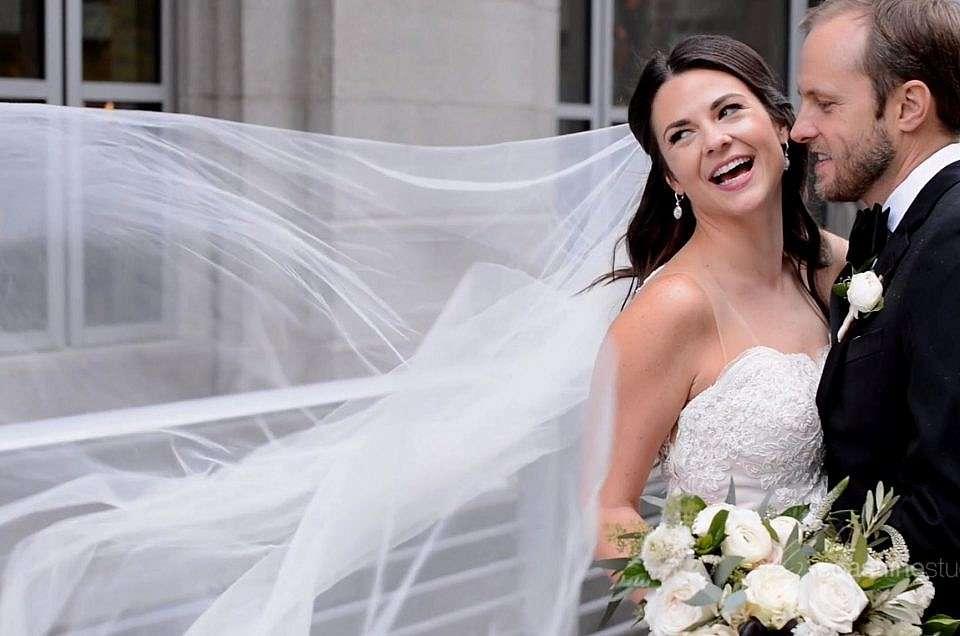 Sarah + Joel's Theatrical Wedding Trailer