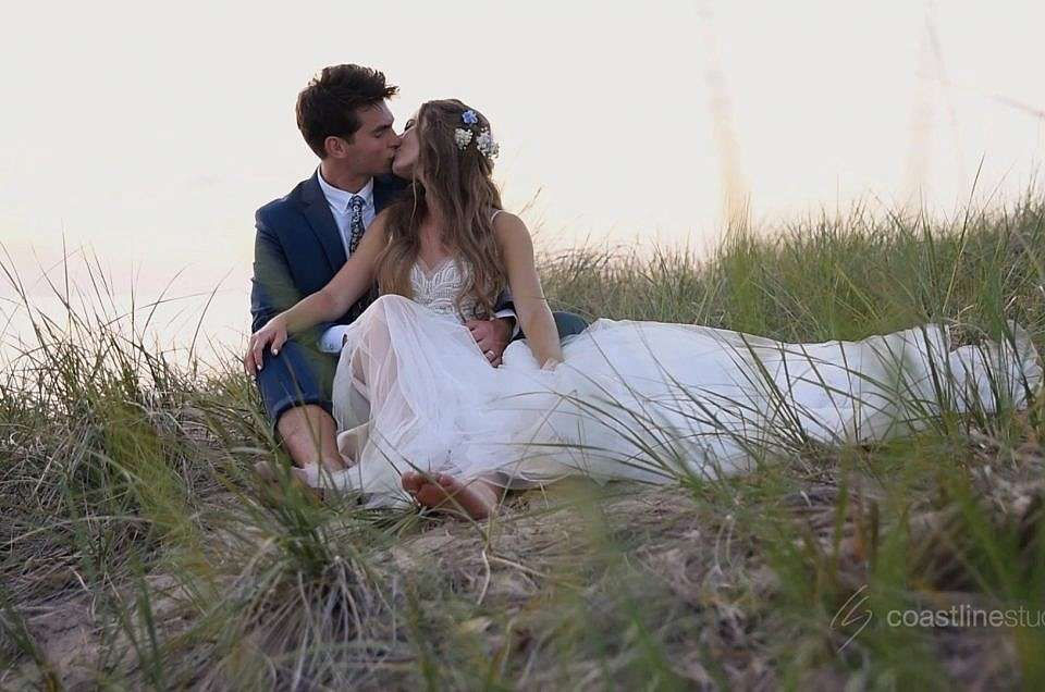 Intimate West Olive Camp Blodgett Beach Wedding | Emily + Blake