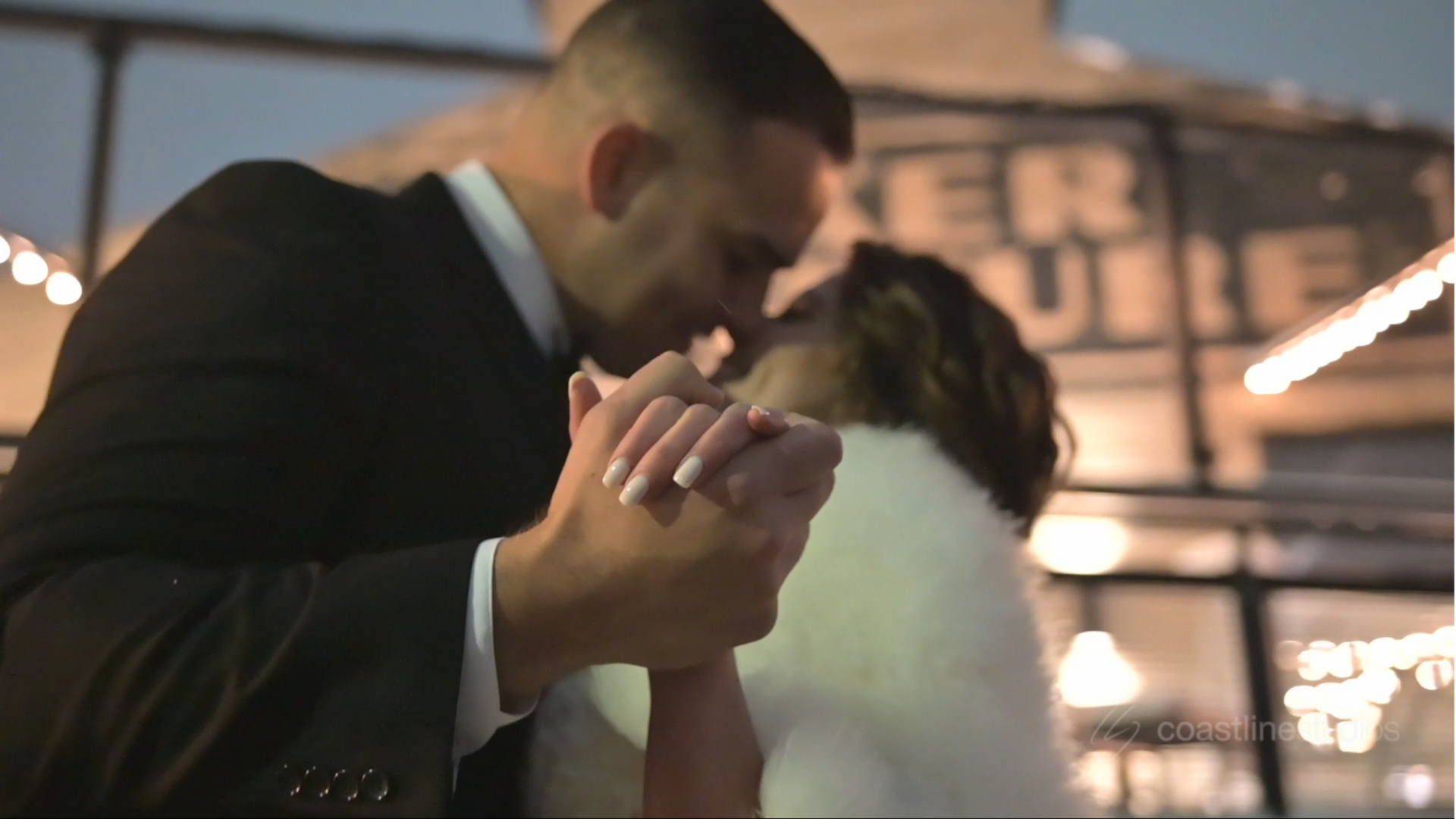 Emotional New Years Wedding at Baker Lofts