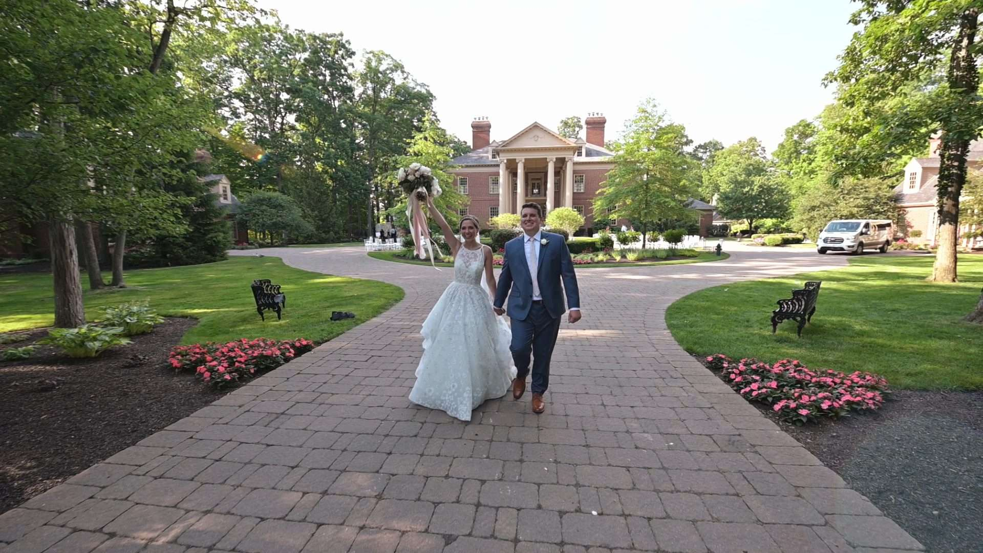 Heart-Warming Backyard Wedding at Indiana Estate