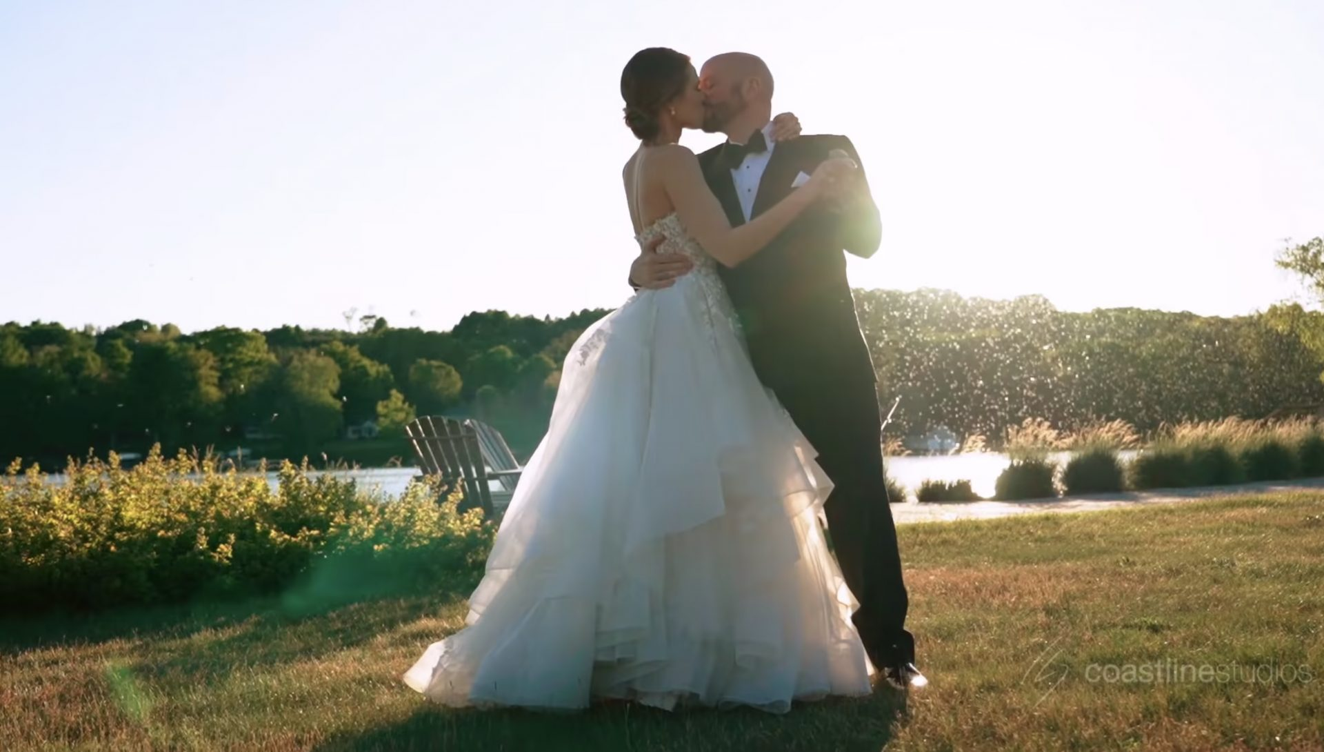 Gorgeous Waterfront Wedding at Fountain Point Resort MI