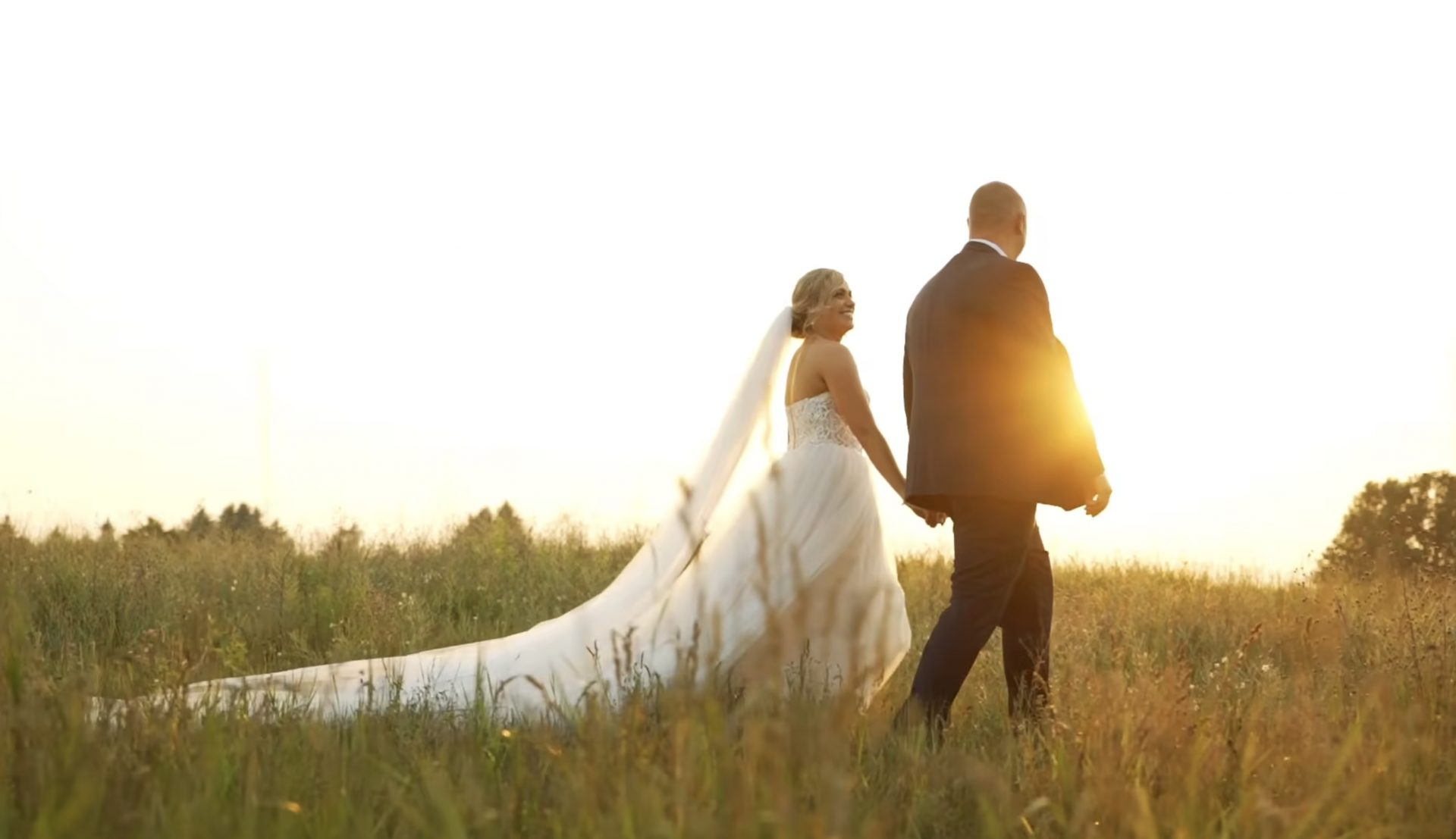 Romantic Outdoor Wedding at Sonshine Barn, Gaylord MI