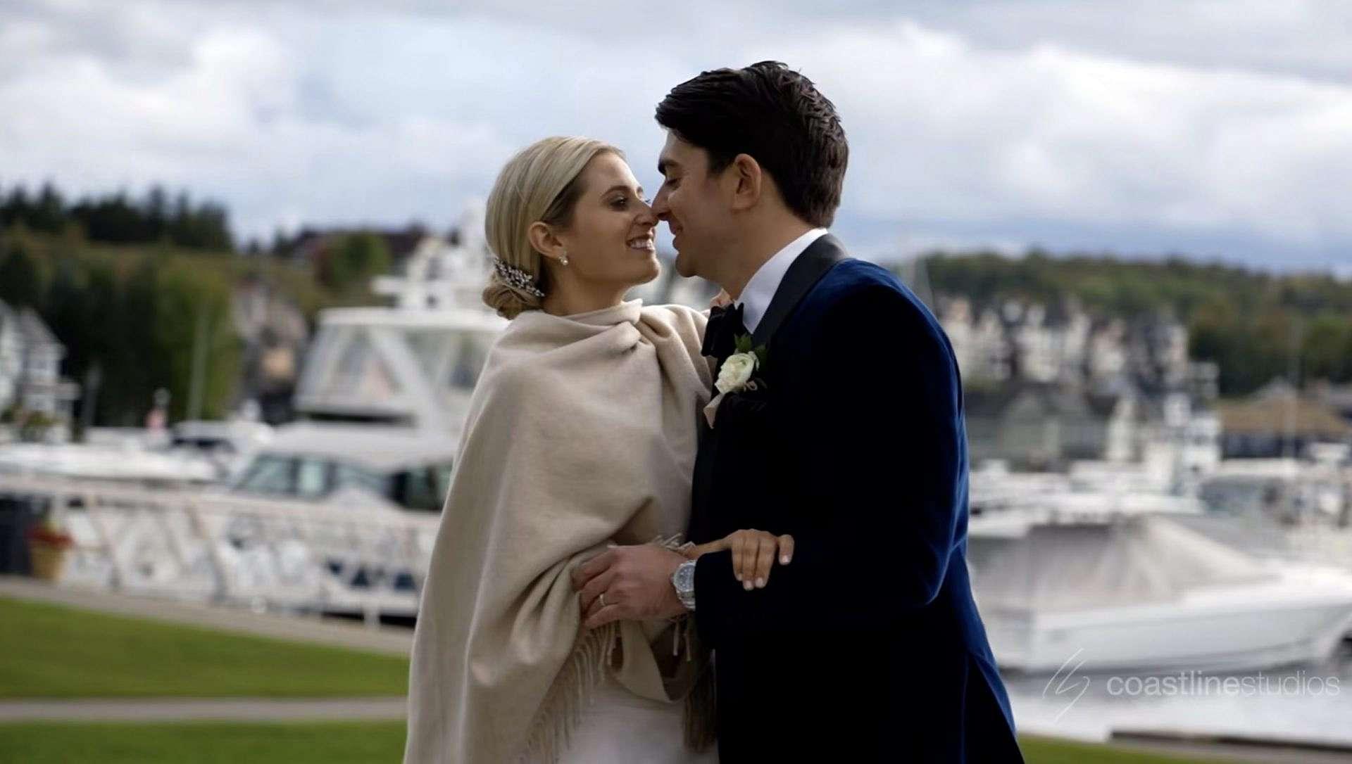 Picturesque Bay Harbor Wedding | Sofia + Dan